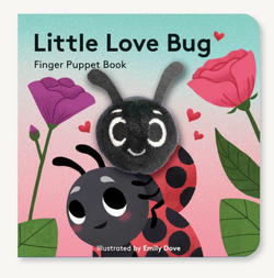 Little Love Bug Board Book Finger Puppet