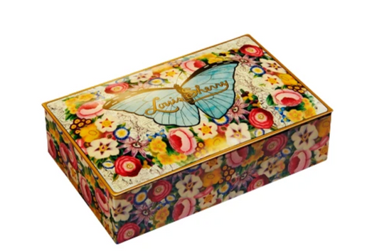John Derian x Louis Sherry Butterfly Chocolate Tin (12pc)