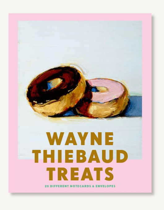 Wayne Thiebaud Treats 20 Different Notecards & Envelopes