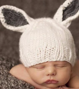 Bailey Bunny Hat Grey