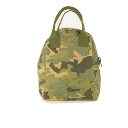Camo Zipper Lunch Bag - Mudpie San Francisco