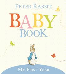 Peter Rabbit Baby Book - My First Year - Mudpie San Francisco