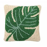 Monstera Leaf Cushion - Mudpie San Francisco