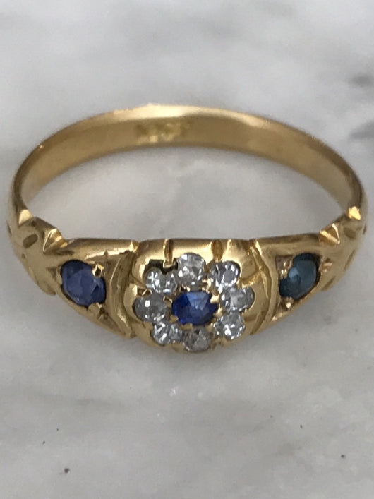Victorian Pinky ring/child's Ring