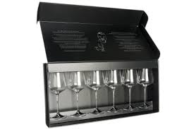 Gabriel Glas: Set of Six Wine Glasses - Mudpie San Francisco