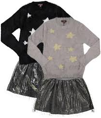 2pc Star Sweater/Skirt