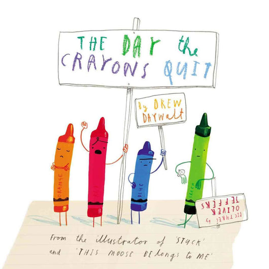Day the Crayons Quit - Mudpie San Francisco