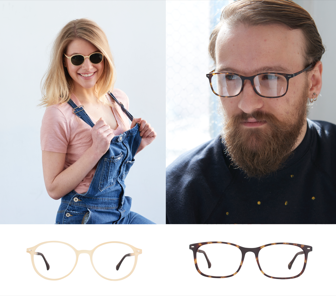 Spectacular Depth of Color & Translucency in Väri's  Two Tone Frames the VR8 & VR9