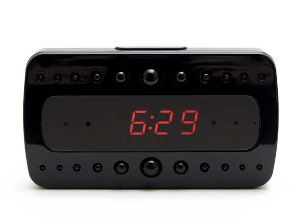 Working Alarm Clock Full HD 1080P IR Camera Night Vision DVR Motion Detect