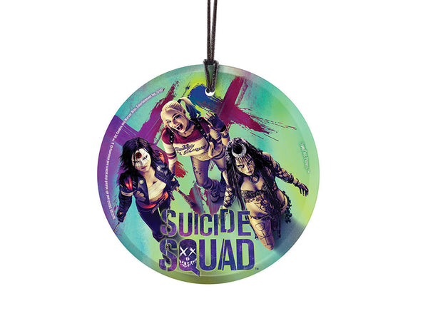 Suicide Squad™ (Squad Girls) StarFire Prints™ Hanging Glass