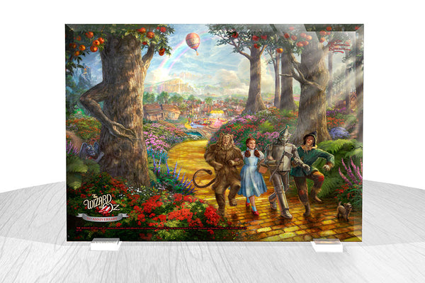 Thomas Kinkade Studios (The Wizard of Oz™ -Follow the Yellow Brick Road™) StarFire Prints™ Beveled Glass