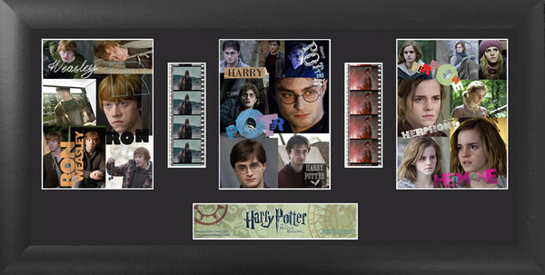 Harry Potter & the Deathly Hallows S3 Trio 20 X 11 Film Cell Numbered Limited Edition COA