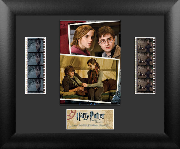 Harry Potter & the Deathly Hallows S1 Double 13 X 11 Film Cell Numbered Limited Edition COA