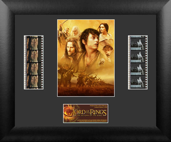 Lord of the Rings Return of King Film Cell Numbered Limited Edition COA