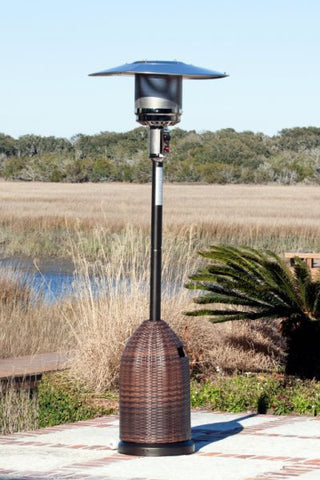 Fire Sense All Weather Wicker Patio Heater