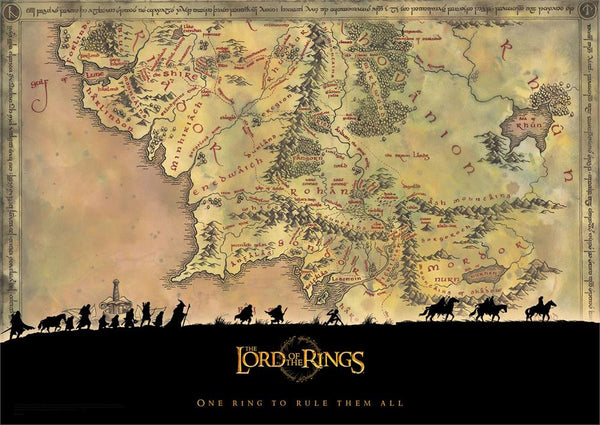 The Lord of the Rings™ (Middle-Earth) MightyPrint™ Wall Art
