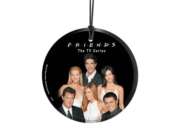 Friends The TV Series (Group) StarFire Prints™ Hanging Glass