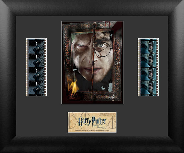 Harry Potter the Deathly Hallows Part 2 S3 Double 13 X 11 Film Cell Numbered Limited Edition COA
