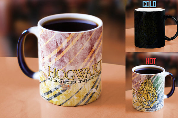 Harry Potter™ (Hogwarts™) Morphing Mugs™ Heat-Sensitive Mug
