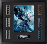 Batman The Dark Knight Rises Batman vs Bane Montage Film Cell Numbered Limited Edition COA
