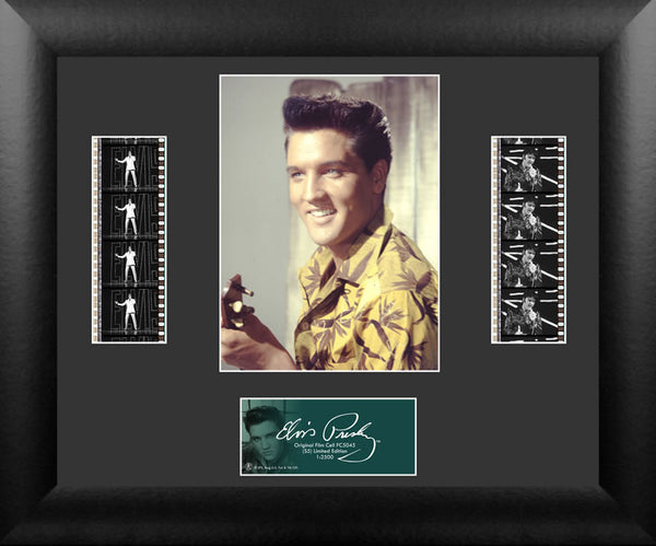 Elvis Presley S5 Double 13 X 11 Film Cell Numbered Limited Edition COA