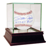 Pete Rose Signed MLB Baseball w 1973 NL MVP Insc.