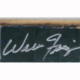 Walt Frazier Signed MSG 2x3 Court Piece
