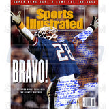 Everson Walls Signed Sports Illustrated 16x20 Story Photo