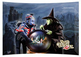 The Wizard of Oz™(Wicked Witch and Castle) StarFire Prints™ Curved Glass