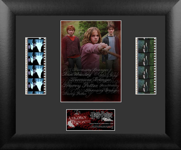 Harry Potter Prisoner of Azkaban S4 Double 13 X 11 Film Cell Numbered Limited Edition COA