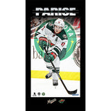 Zach Parise Player Profile 10x20 Framed Photo