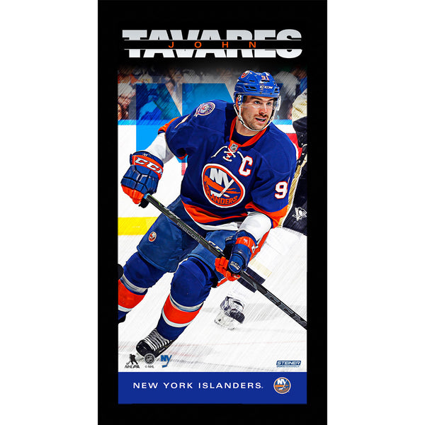 John Tavares Player Profile 10x20 Framed Photo