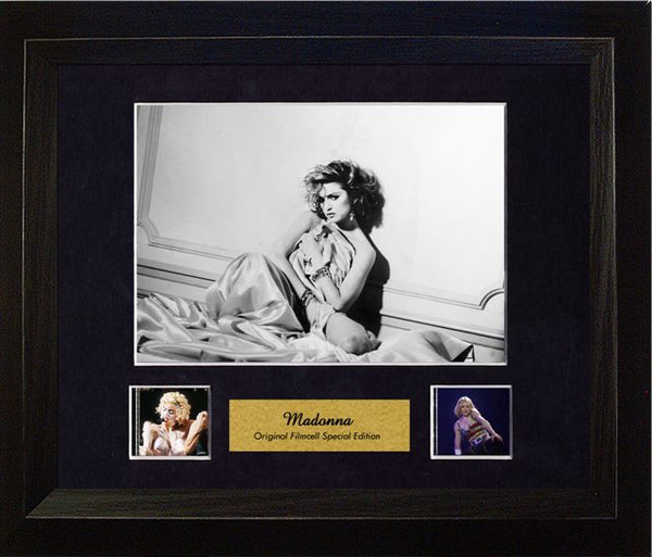 Madonna 13 X 11 Film Cell Special Edition COA