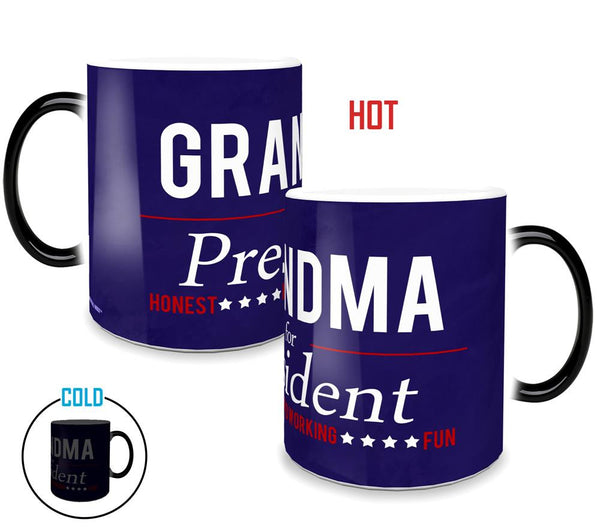 For President (Grandma) Morphing Mugs™ Heat-Sensitive Mug