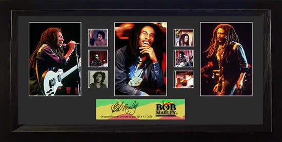 Bob Marley S2 Trio 20 X 11 Film Cell Limited Edition COA