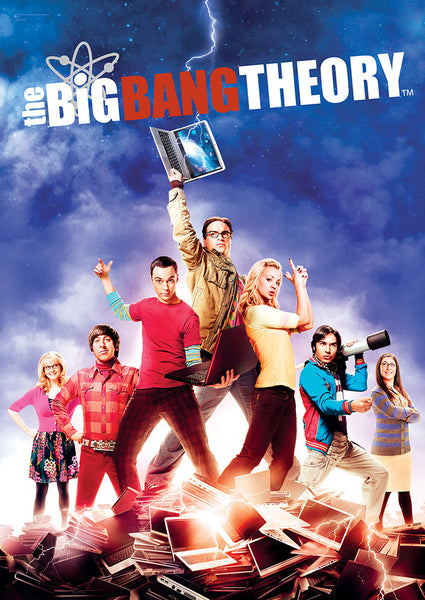 The Big Bang Theory™ (Group) MightyPrint™ Wall Art