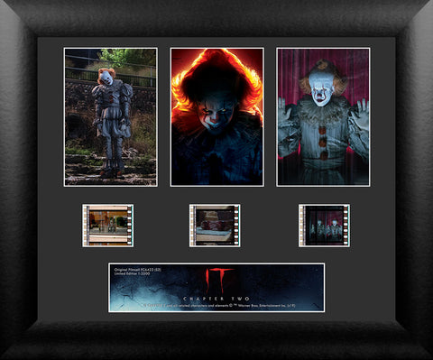 IT 2 S2 3 Cell Standard FilmCells Wall Art USFC6423 Numbered Limited Edition COA