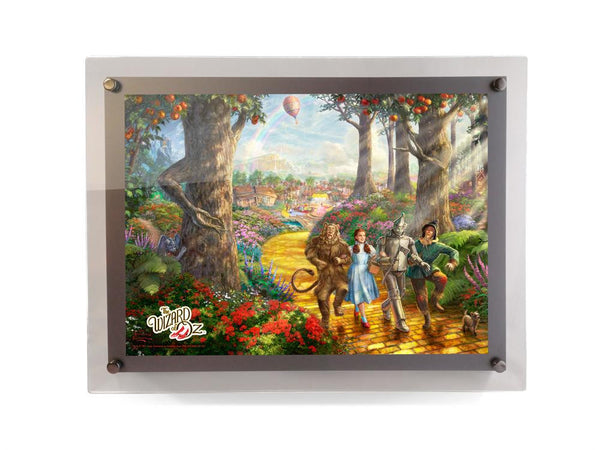 Thomas Kinkade Studios (The Wizard of Oz™ - Follow the Yellow Brick Road) PolyPix™ Print with Backlit Frame
