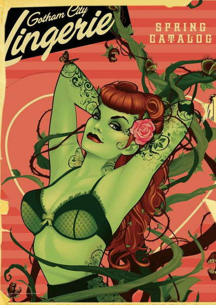 DC Comics Justice League™ (Bombshell Poison Ivy) MightyPrint™ Wall Art