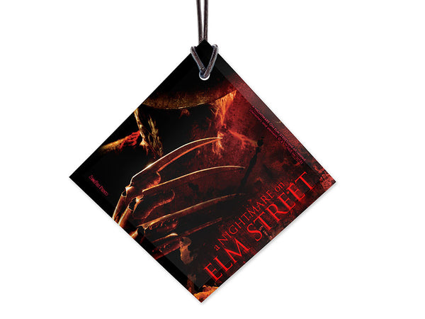 Nightmare On Elm Street™ (Freddy) StarFire Prints™ Hanging Glass