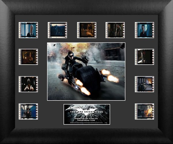 Batman The Dark Knight Rises Catwoman Mini Montage Film Cell Limited Edition COA