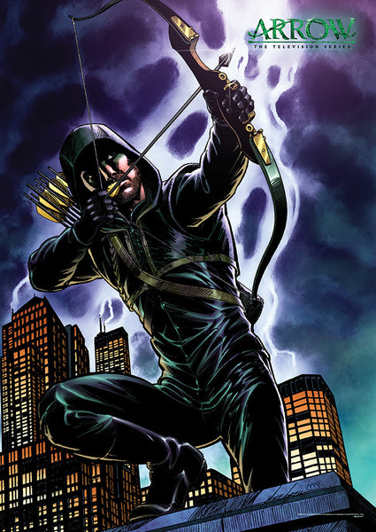 Arrow (Green Arrow Comic) MightyPrint™ Wall Art