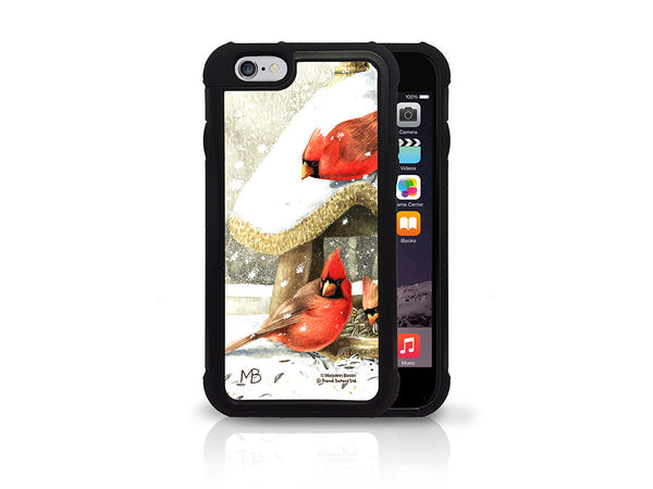 Marjolein Bastin (Winter Cardinals) iPhone 6 Case
