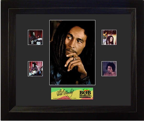 Bob Marley Double 13 X 11 Film Cell Limited Edition COA
