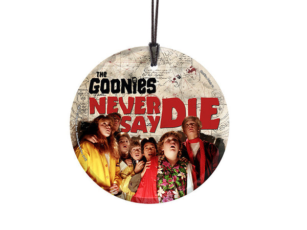 The Goonies (Never Say Die) StarFire Prints™ Hanging Glass