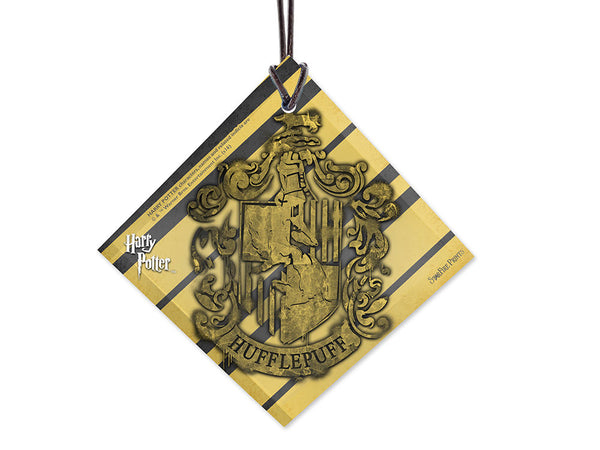 Harry Potter™ (Hufflepuff Crest) StarFire Prints™ Hanging Glass