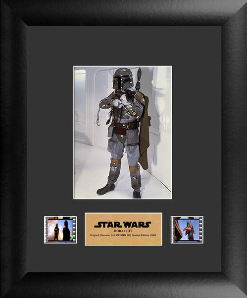 Star Wars (Boba Fett) Single 11 X 13 Film Cell Numbered Limited Edition COA