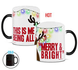 Christmas (Merry and Bright) Morphing Mugs™ Heat-Sensitive Mug