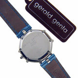 New Swiss Gerald Genta Lady's Success Steel Pearl Dial Diamond Markers Tags