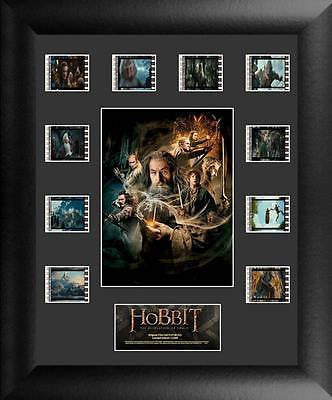 HOBBIT DESOLATION OF SMAUG 11 X 13 Film Cell Limited Edition COA